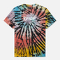 Мужская футболка RIPNDIP Rubber Logo Sunburst Spiral Tie Dye фото - 0