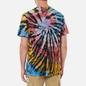 Мужская футболка RIPNDIP Rubber Logo Sunburst Spiral Tie Dye фото - 3