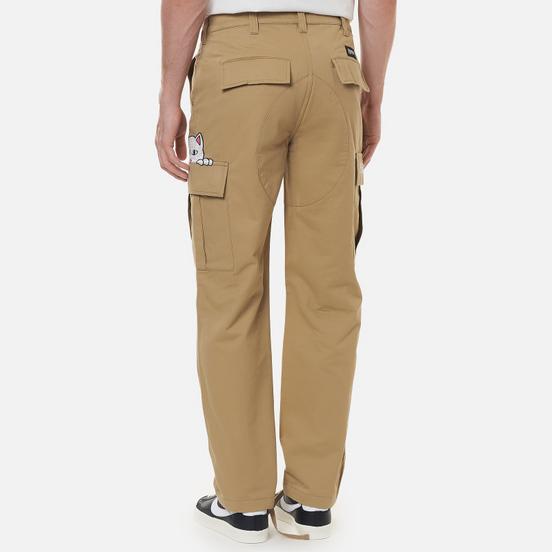 Мужские брюки RIPNDIP Peeking Nermal Cargo Khaki