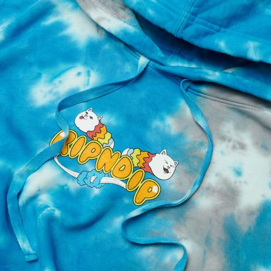 Мужская толстовка RIPNDIP Space Gravy Hoodie Baby Blue Cloud Wash