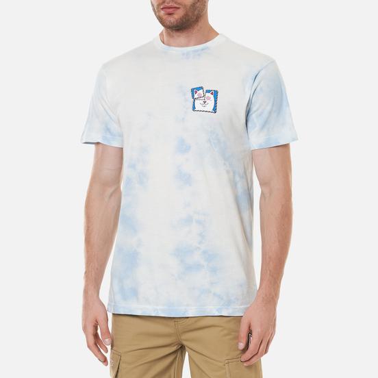 Мужская футболка RIPNDIP Acid Playdo Light Blue Cloud Wash