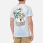 Мужская футболка RIPNDIP Acid Playdo Light Blue Cloud Wash фото - 4