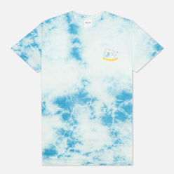 Мужская футболка RIPNDIP All Days Off Sky Blue Tie Dye