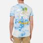 Мужская футболка RIPNDIP All Days Off Sky Blue Tie Dye фото - 4