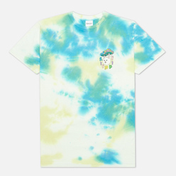 Мужская футболка RIPNDIP Boomer Gang Yellow/Blue Acid Wash