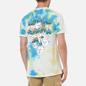 Мужская футболка RIPNDIP Boomer Gang Yellow/Blue Acid Wash фото - 4
