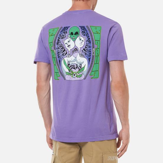 Мужская футболка RIPNDIP Firewire Light Purple