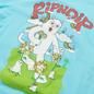 Мужская футболка RIPNDIP Flower Power Baby Blue фото - 2
