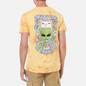 Мужская футболка RIPNDIP Think Factory Gold/Orange Cloud Wash фото - 4