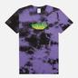Мужская футболка RIPNDIP Nebula Purple/Black Dye фото - 0