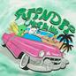 Мужская футболка RIPNDIP Nermrider Beach Mint Cloud Wash фото - 2