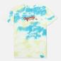 Мужская футболка RIPNDIP Raise Da Hell Yellow/Blue Acid Wash фото - 0