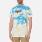 Мужская футболка RIPNDIP Raise Da Hell Yellow/Blue Acid Wash фото - 3