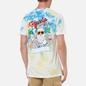 Мужская футболка RIPNDIP Raise Da Hell Yellow/Blue Acid Wash фото - 4