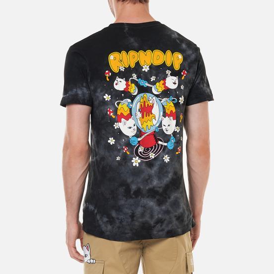 Мужская футболка RIPNDIP Space Gravy Black Lightning Wash