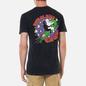 Мужская футболка RIPNDIP Star Gazer Black Mineral Wash фото - 4