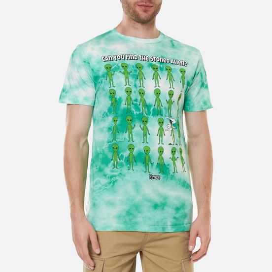 Мужская футболка RIPNDIP Stoned Again Green Acid Wash