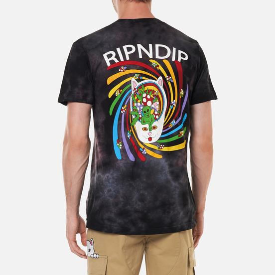 Мужская футболка RIPNDIP Touch Of Psych Black/Lavender