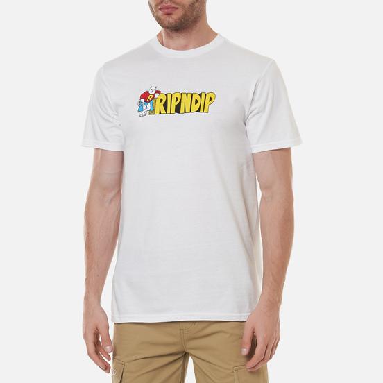 Мужская футболка RIPNDIP We Can Be Heros White