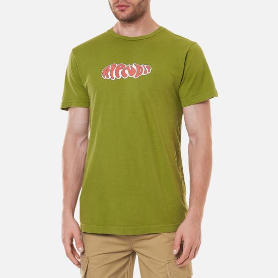 Мужская футболка RIPNDIP Flower Child Dirty Olive