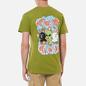 Мужская футболка RIPNDIP Flower Child Dirty Olive фото - 4