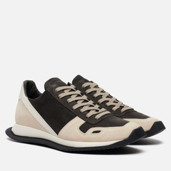 Мужские кроссовки Rick Owens Performa Runner Lace Up Dark Dust/White/White/White/Black