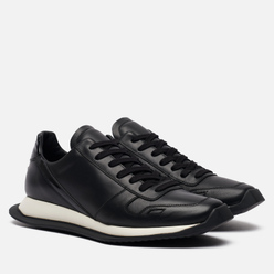 Мужские кроссовки Rick Owens Performa Runner Lace Up Black/Black/Black/Black/White/Black