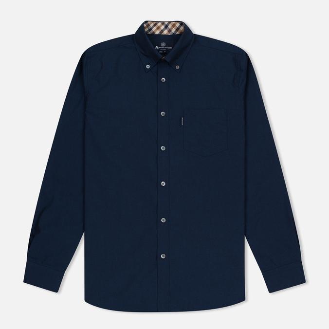 Мужская рубашка Aquascutum Eshton LS Navy