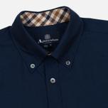 Мужская рубашка Aquascutum Eshton LS Navy фото- 1