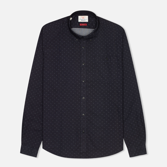 Мужская рубашка Barbour Arrow Print Dark Navy