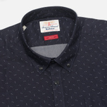 Мужская рубашка Barbour Arrow Print Dark Navy фото- 1