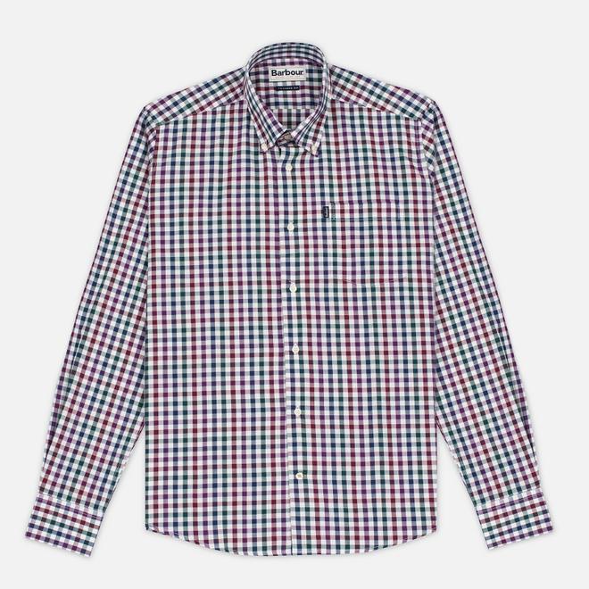 Мужская рубашка Barbour Bibury Plum