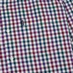 Мужская рубашка Barbour Bibury Plum фото- 1