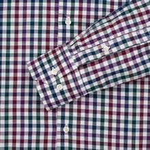 Мужская рубашка Barbour Bibury Plum фото- 2
