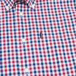 Мужская рубашка Barbour Bruce Navy фото- 2
