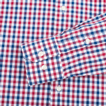 Мужская рубашка Barbour Bruce Navy фото- 3