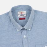 Мужская рубашка Barbour Carew Sky Blue фото- 1