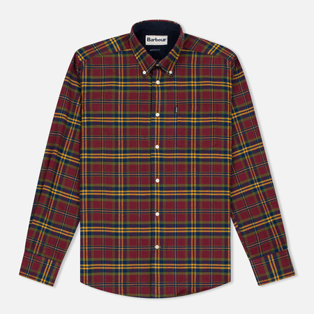 Barbour Castlebay Men's Shirt Crimson
