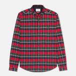 Мужская рубашка Barbour Castleford Rich Red фото- 0
