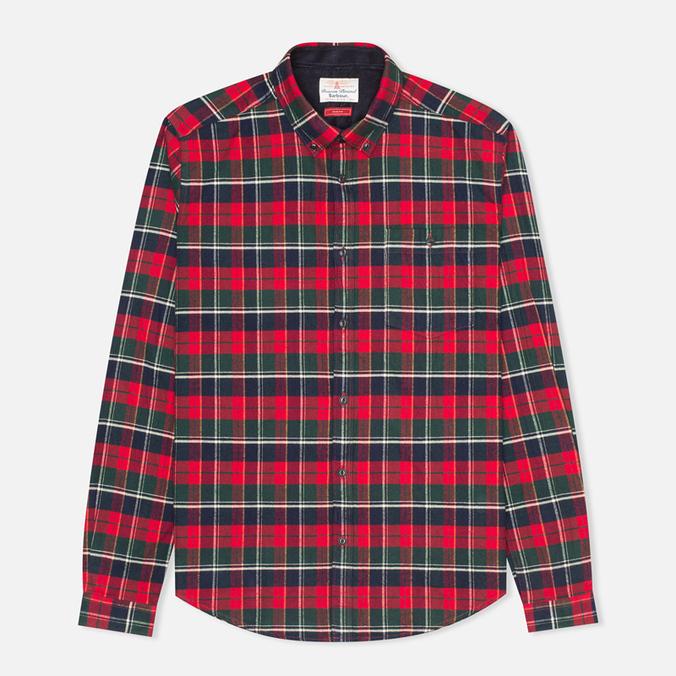 Мужская рубашка Barbour Castleford Rich Red