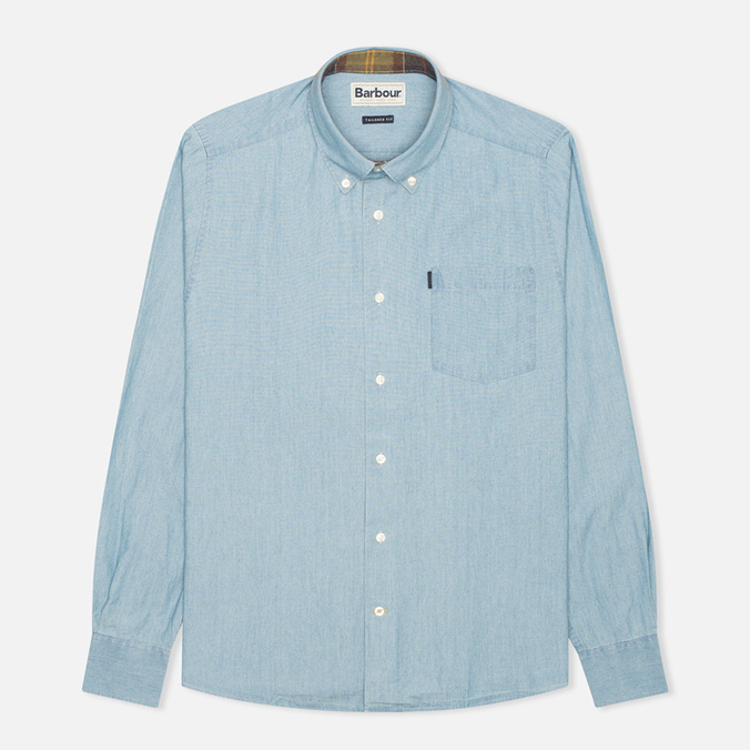 Barbour Colt Men's Shirt Indigo