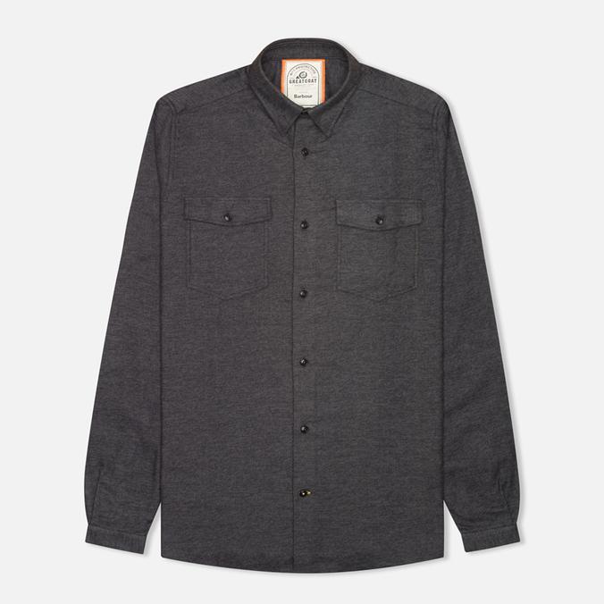 Мужская рубашка Barbour Hibbert Charcoal