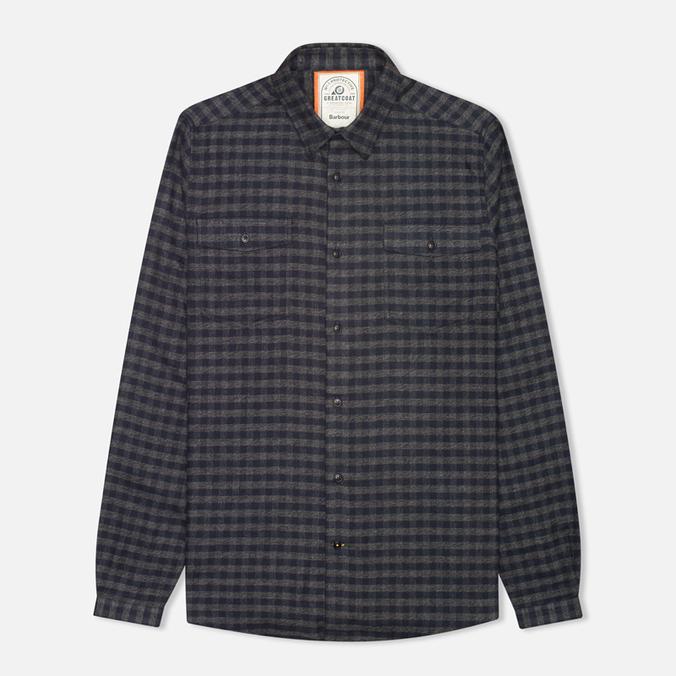 Мужская рубашка Barbour Landry Navy