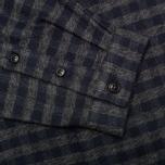 Мужская рубашка Barbour Landry Navy фото- 3