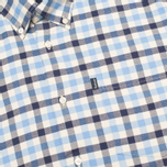 Barbour Moss Men's Shirt Sea Blue photo- 2