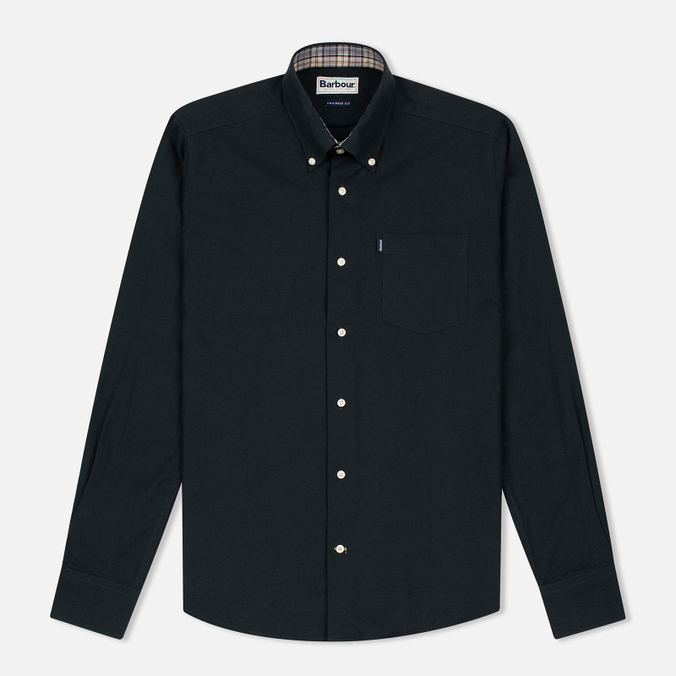 Barbour Oxford Men's shirt Forest