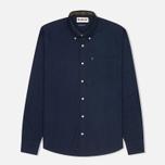 Мужская рубашка Barbour Oxford Midnight Blue фото- 0