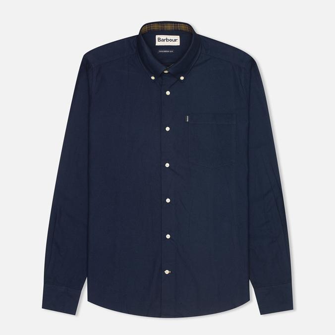 Мужская рубашка Barbour Oxford Midnight Blue