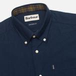 Мужская рубашка Barbour Oxford Midnight Blue фото- 1