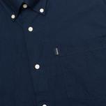 Мужская рубашка Barbour Oxford Midnight Blue фото- 2